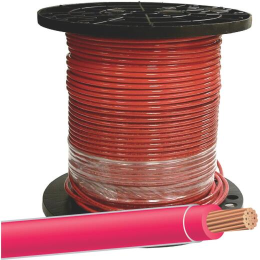 Southwire 500 Ft. 8 AWG Stranded Red THHN Wire